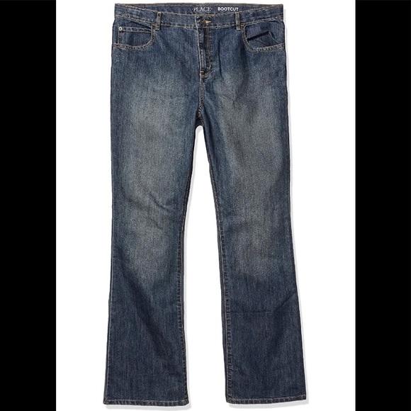 Children's Place boys jeans, dark wash size 12.